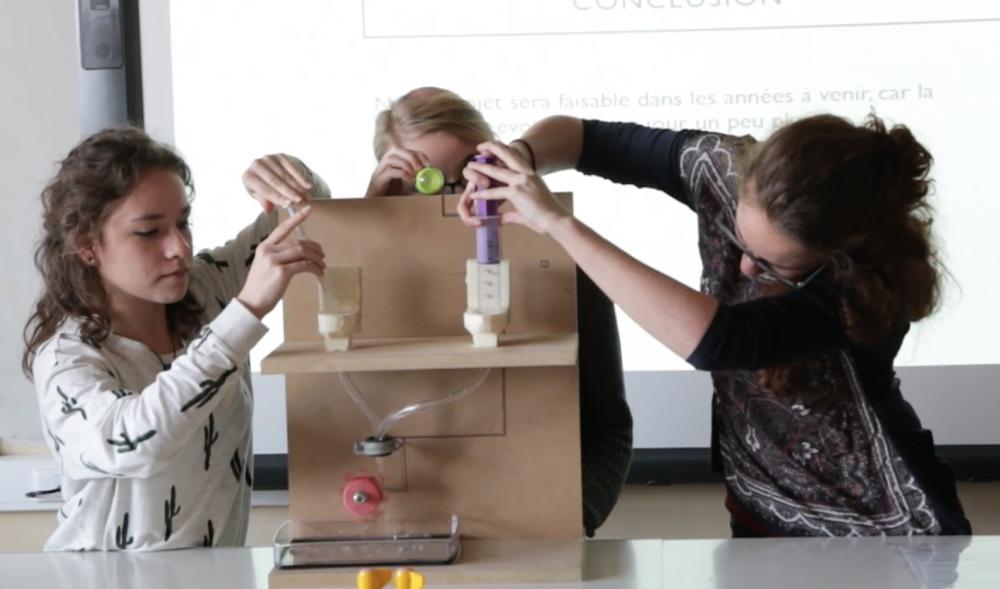 Ces élèves qui défient l'énergie – Athénée Fernand Blum
