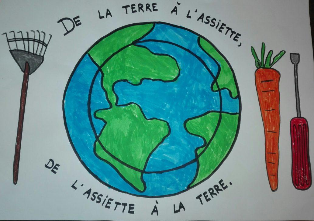 De la terre à l'assiette, de l'assiette à la terre – Ecole Les Acacias