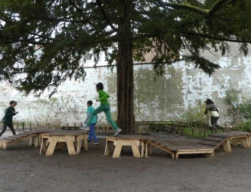 Speelplaatsparcours – Gemeentelijke basisschool Arc-en-ciel
