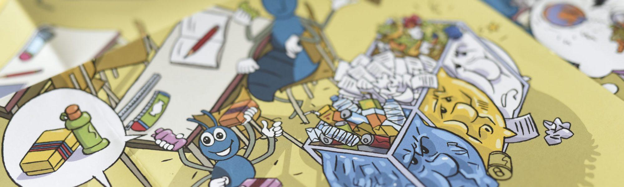 Outils pédagogiques de Bruxelles environnement / Leermiddelen van Leefmilieu Brussel